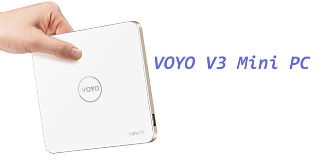VOYO V3 Mini PC  –  4GB+128GB mit Windows 10