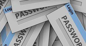 Passwort für mehr Computersicherheit
