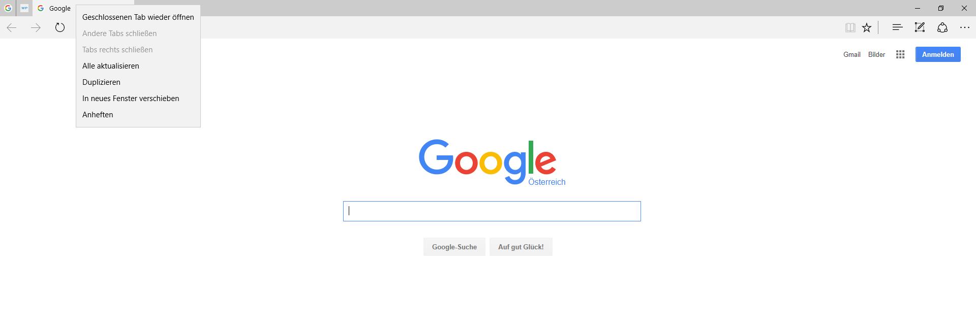 unbenannt - Microsoft Edge Browser alle Neuerungen