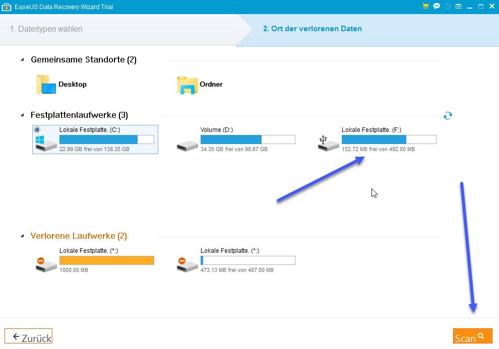 data-recovery-datein-finden