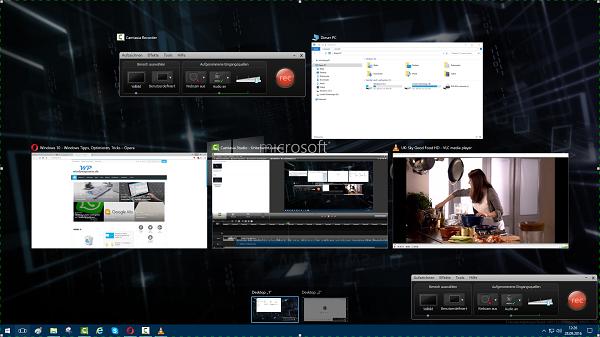 unbenannt - Windows 10 Multiscreen/Multidesktop