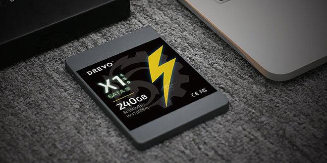 drevo x1 serie ssd 240gb - Drevo X1 Serie SSD 240GB Sata III für 49,99€