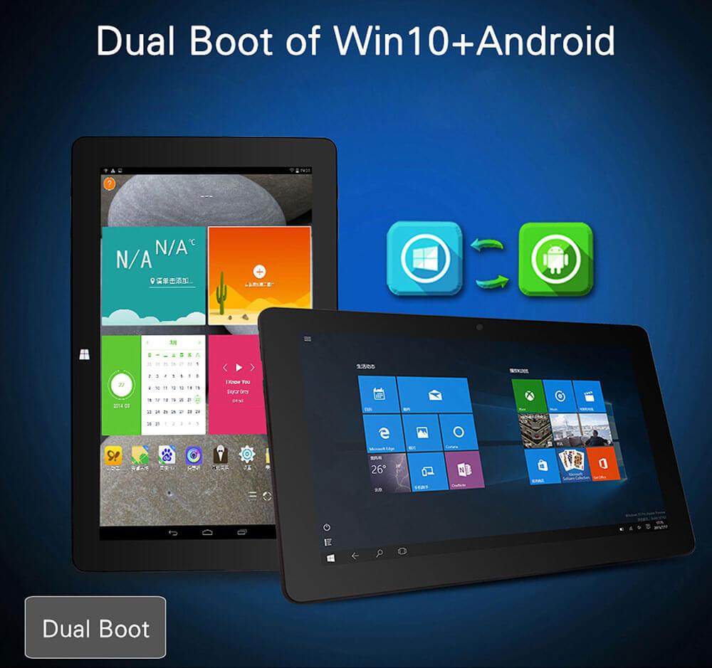 dual-boot-jumper-ezpad-4se Jumper Ezpad 4SE Tablet mit Windows 10 + Android für 101€