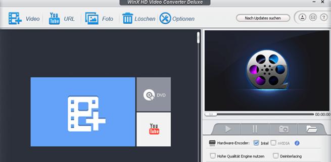 winx hd video converter deluxe 1 - WinX HD Video Converter Deluxe ausprobiert + 5 Lizenzen zu verlosen