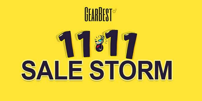 11111111 - 11.11 Sales Storm bei GearBest mit Mega Angebote