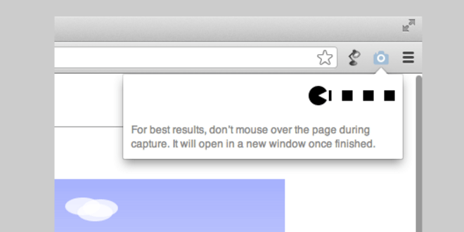 full page screen capture screenshots von einer ganzen webseite erstellen - Google Chrome: Screenshots von einer ganzen Webseite erstellen