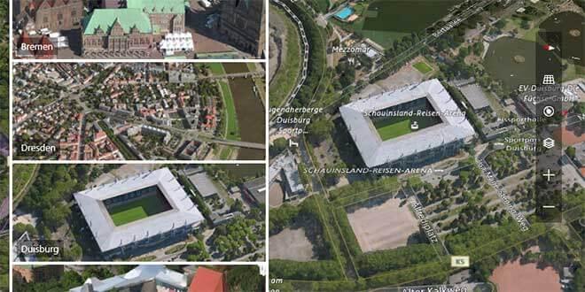 3d ansichten von staedten bei windows 10 karten app - 3D Ansichten von Städten bei Windows 10 anschauen
