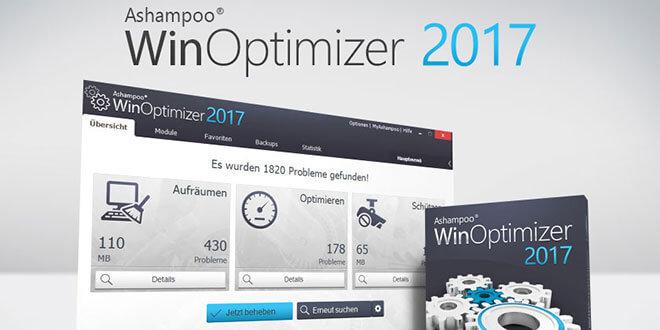 ashampoo winoptimizer 2017jpg - Ashampoo WinOptimizer 2017 Kostenlos