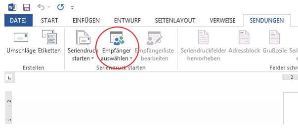 Adressetiketten drucken mit Microsoft Word und Excel- So geht\'s
