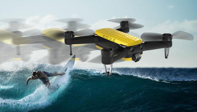 drohne - Geniusidea FOLLOW Drohne für 360€