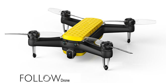 geniusidea drohne - Geniusidea FOLLOW Drohne für 360€