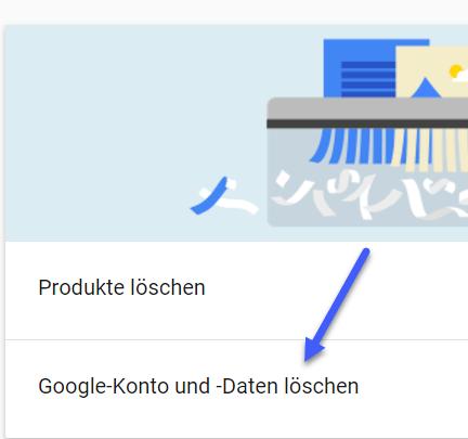 google konto und daten loeschen - Google Konto Account löschen