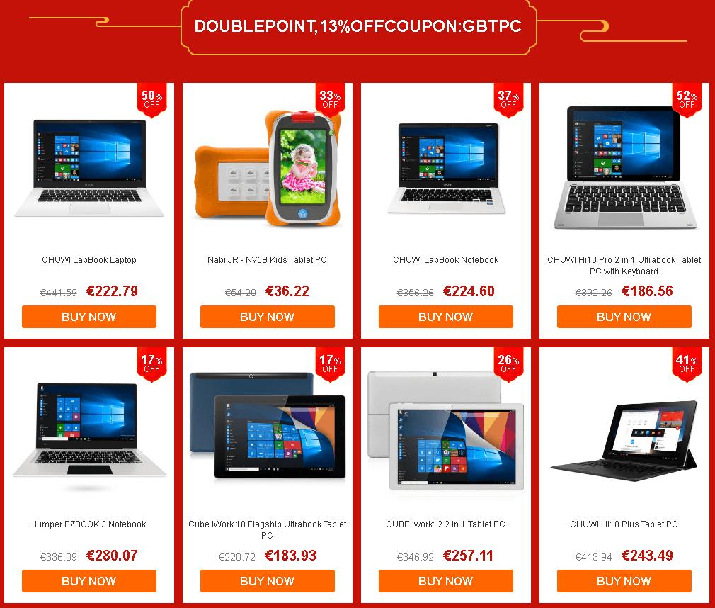 laptop - Chinesische Neujahr Aktion bei gearbest.com