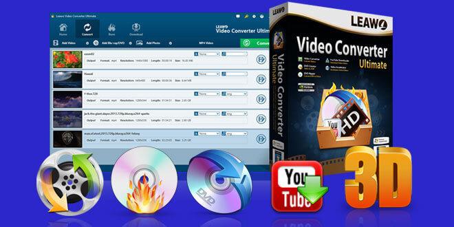 leawo video converter ultimate - Ausprobiert: Leawo Video Converter Ultimate + 3 Lizenzen zu gewinnen