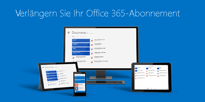office 365 verlaengern so gehts - Office 365 Abo verlängern – So geht's