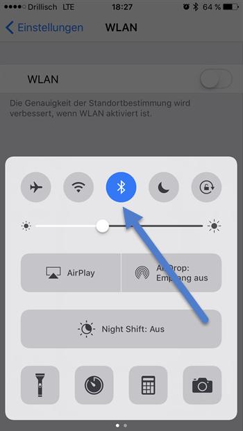 bluetooth mebue - 7 Tipps wie Sie bei Ihrem iPhone Akku sparen können