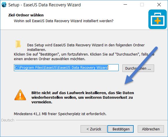 easeus data recovery install - EaseUS Data Recovery Wizard 11.0 + 3 Lizenzen zu gewinnen