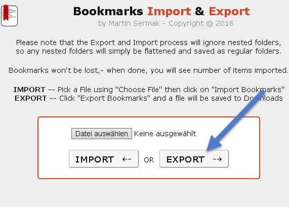 lesezeichen-exportieren