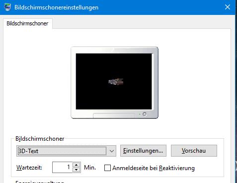 unbenannt 6 - Windows 7/10 Uhrzeit als Bildschirmschoner einstellen