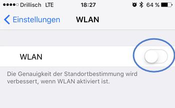 wlan deaktivieren - 7 Tipps wie Sie bei Ihrem iPhone Akku sparen können
