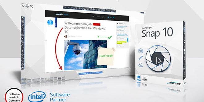 ashampoo snap 10 presentation de - Ashampoo Snap 10 erschienen - Einfach Screenshots und Video-Aufzeichnung