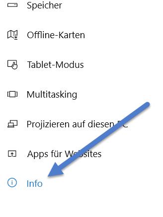 info - Systeminformationen anzeigen bei Windows 10 - So geht's