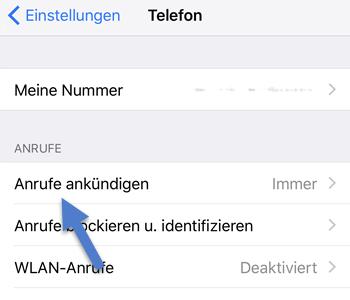 Anrufer von Siri Namentlich ankündigen lassen – So geht's
