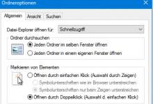 Photo of Windows 10: Einfach-Klick statt Doppelklick