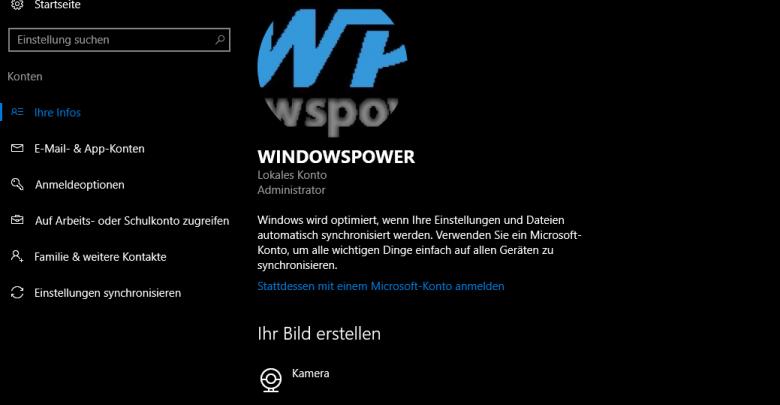 unbenannt 5 780x405 - Windows 10 Benutzerbild ändern
