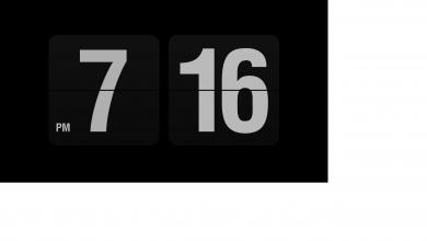 unbenannt 6 390x220 - Fliqlo die Retro Uhr als Bildschirmschoner