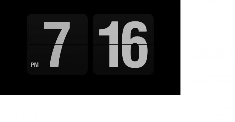 unbenannt 6 780x405 - Fliqlo die Retro Uhr als Bildschirmschoner