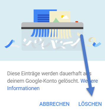 google history - Google History - Meine Aktivitäten löschen - So geht's