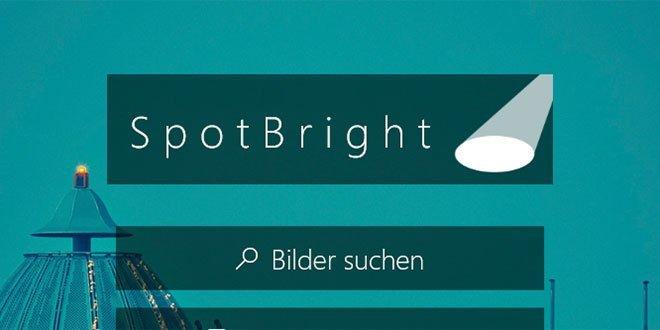 spotbright - Kann man die Sperrbildschirm-Bilder bei Windows 10 speichern?