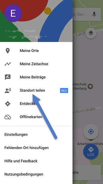 Google Maps Standort Teilen Funktioniert Nicht