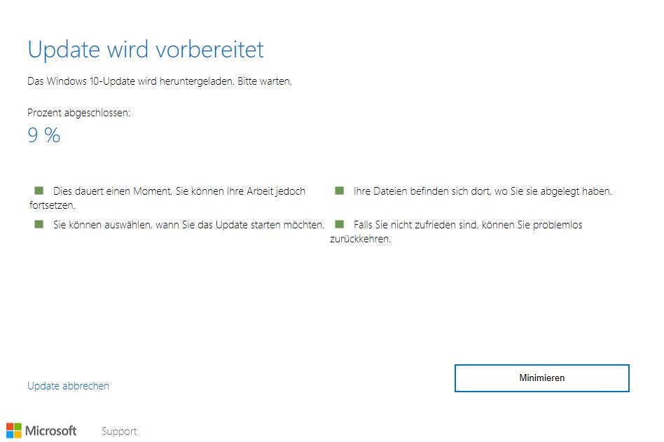 update-wird-vorbereitet