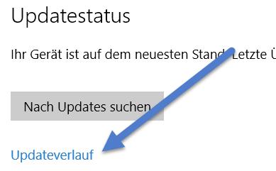 updateverlauf