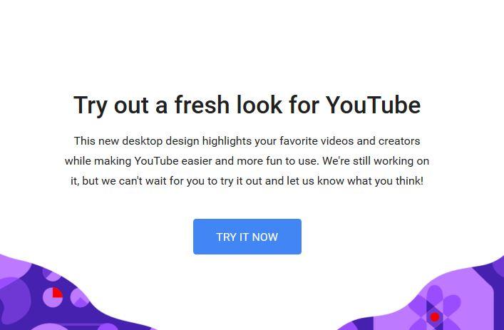 unbenannt - Das neue Youtube Design