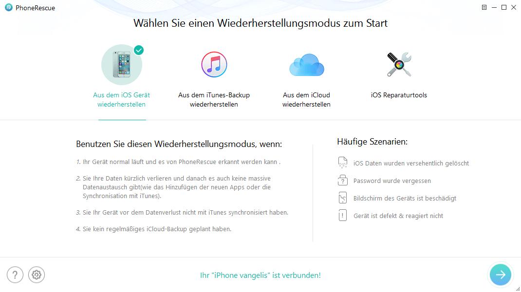 phonerescue - PhoneRescue-iOS Datenrettung Software – Wir verlosen 5 Lizenzen