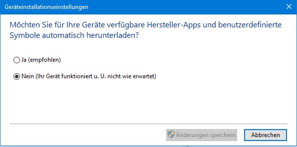 unbenannt 2 - Windows 10 automatische Treiber Updates deaktivieren