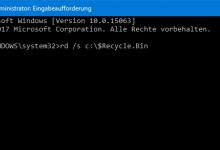 unbenannt 4 220x150 - Windows 10: Papierkorb leert sich nicht