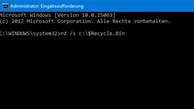 Photo of Windows 10: Papierkorb leert sich nicht
