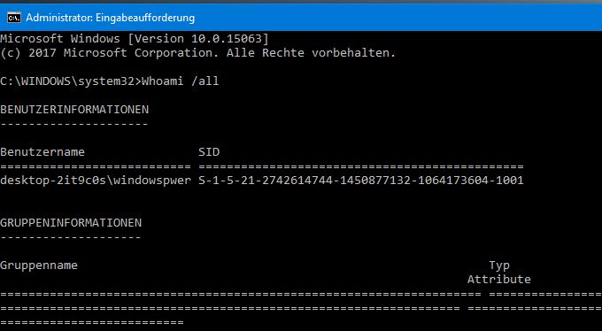 unbenannt 5 - Windows 10 Benutzer und Eigenschaften anzeigen lassen