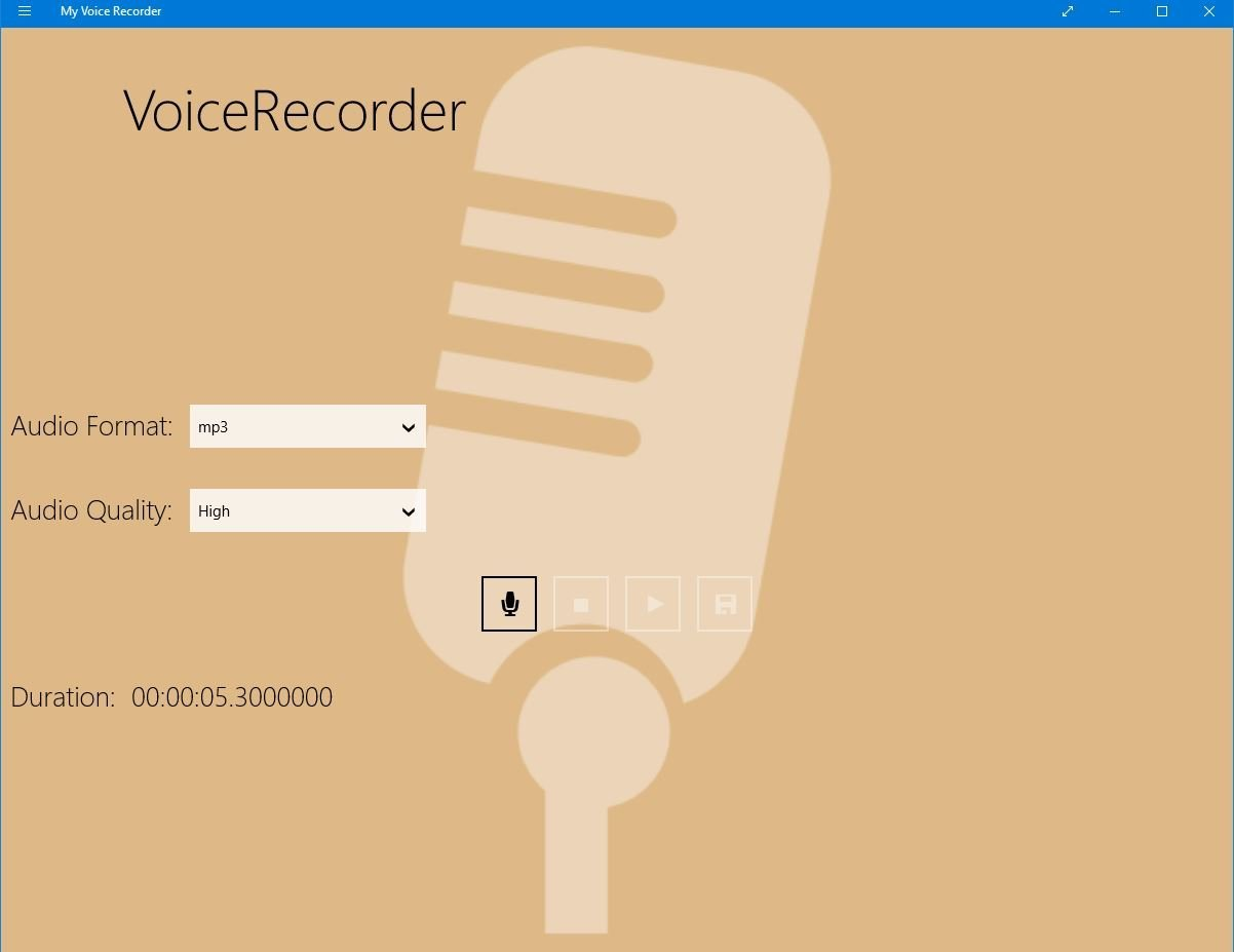 voice - Windows 10 Voice Recorder