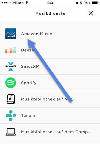 amazon musik - Amazon Music auf Bose Streamen mit SoundTouch-App