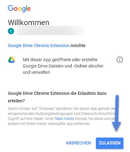Chrome Browser google-drive-chrome-extension