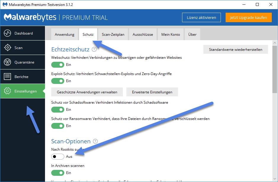 Sugabit.net Virus entfernen malwarebytes