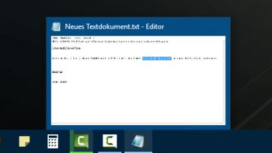 Windows 10 Vorschaubilder in der Taskleiste deaktivieren