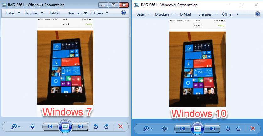 Alte Windows-Fotoanzeige windows 7 windows 10