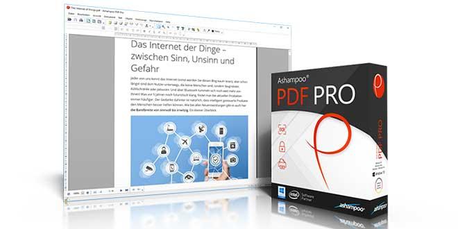 ashampoo pdf pro - Ashampoo PDF Pro ausprobiert - Konvertieren, Erstellen & Bearbeiten von PDF-Dateien