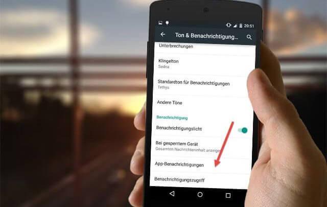 benachrichtigung von app deaktivieren bei android 640x405 - Benachrichtigung von App deaktivieren bei Android